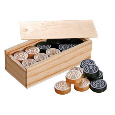 Backgammon / Mills  / Checkers game pieces