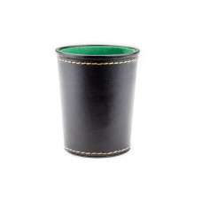 Conical Dice cup of Leatherette