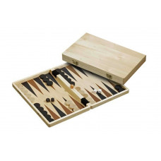 Wooden Backgammon Set M in Cassette design Paros