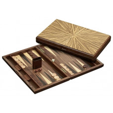 Backgammon set in Wood Cyclades Mykonos L