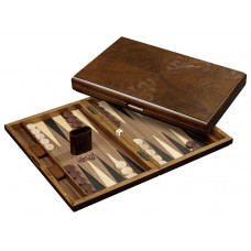 Backgammon set in Wood Cyclades Iraklia L