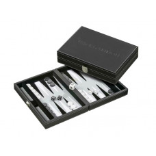 Backgammon Set S, Traveller in Gray