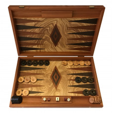 Backgammon Board in Wood Rhodos L