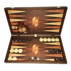 Backgammon Board in Wood Skinousa L