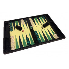 Backgammon Complete Set Mr Stylish Snake in Black XL