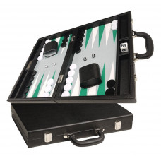 Silverman & Co Favour M Backgammon Board in Black