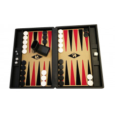 Backgammon set M Popular 36 mm Stones BL-BE-BL-RE
