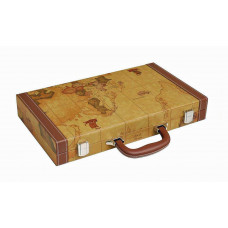 Backgammon Board M Middleton MAP in Brown