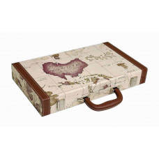 Backgammon Board M Middleton MAP in White