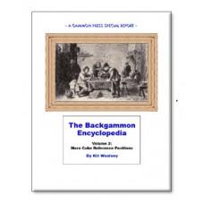 "Backgammon-bok 108 s ""Backgammon Encyclopedia Volume 2"""