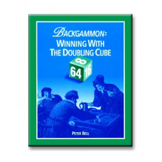 "Backgammon Book 196 p ""Winning with the Doubling Cube"""