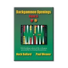 """Backgammonbok 152 s """"Backgammon Openings"""""""