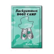 """Backgammon Book 340 p """"Backgammon Boot Camp"""""""