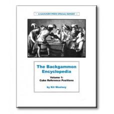 "Backgammon-bok 124 s ""Backgammon Encyclopedia Volume 1"""