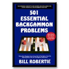 "Backgammon-bok 384 s ""Backgammon Problems"""