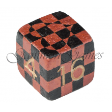 "Backgammon dubblerings-kub 30 mm ""Chess Love"""