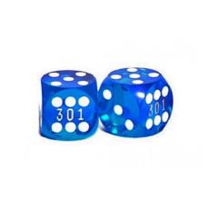 Precisionstärningar 13 mm Numrerade i blått