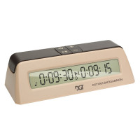 DGT 1006 Backgammon Timer i beige
