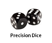 Backgammon Precision Dice