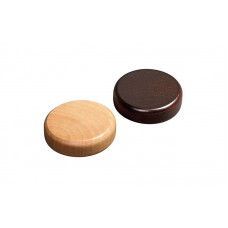 Backgammon Stones made of Alder Diam 20 mm