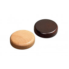 Backgammon Stones made of Alder Diam 25 mm