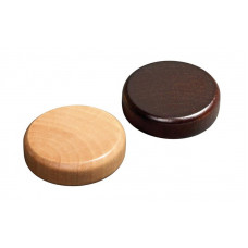 Backgammon Stones made of Alder Diam 30 mm