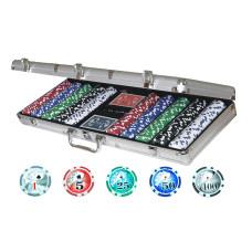 Poker komplett set i aluminium Professional