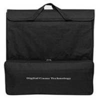 Förvarings-bärväska i svart för komplett schackset