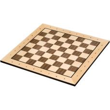 Schackbräde Belgrad i trä FS 50 mm med schacknotation