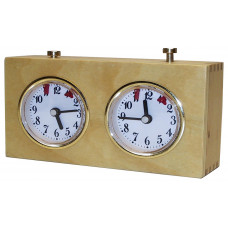 BHB Chess clock mechanical wooden case