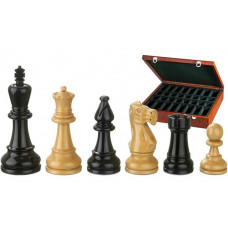 Wooden Chess Pieces Hand-carved BN-Nero KH 95 mm
