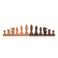 Wooden Chess Pieces Hand-carved Classic KH 85 mm
