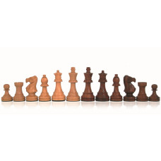 Wooden Chess Pieces Hand-carved Classic KH 100 mm