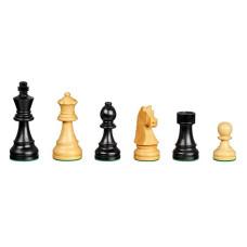 Schackpjäser Staunton handsnidade i trä  KH 57 mm