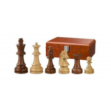 Wooden Chess Pieces Hand-carved Sigismund KH 70 mm