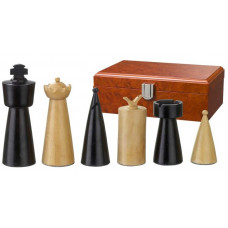 Wooden Chess Pieces 90 mm Modern Style Domitian