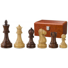 Wooden Chess Pieces Hand-carved Tutencham KH 95 mm