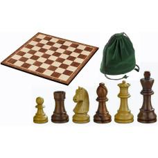 Schack komplett set i trä Reykjavik