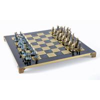 Schack set Idols i mässing och brons