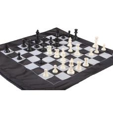 Staunton turnerings schack-set i Cinch-väska