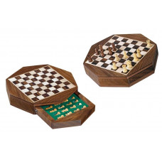 Chess Set Octagon Magnetic XS