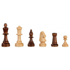 Chess Pieces of Alder hand-carved Heinrich KH 90 mm