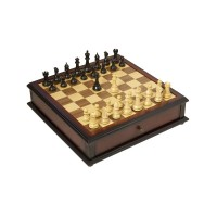 The Classic Series Library Chess and Checkers Set M