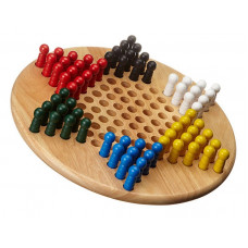 Chinese Checkers Game Classic L Hevea Wood