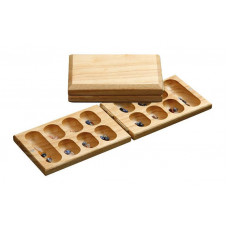 Mancala Complete Set Wooden Traveling