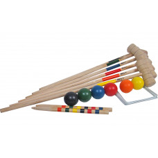Croquet set of 6 Family
