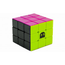 Speedcube 3x3 Stickerless 6-färg Spook