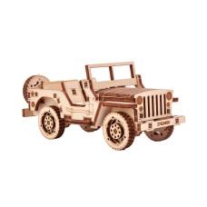 3D pussel - Safari Car Wood Trick