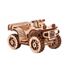 3D pussel - ATV Fyrhjuling Wood Trick