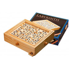 Labyrinth Game Made of Pine L